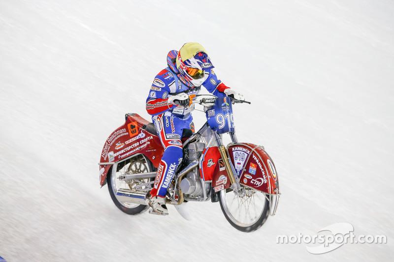 Дмитрий Хомицевич выиграл финальный заезд второго дня этапа в Херенвене