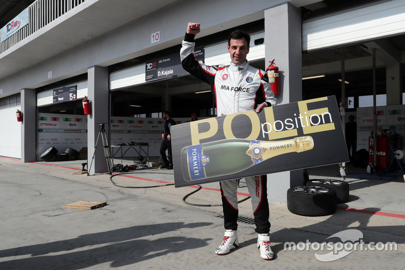 Pole positiion for Davit Kajaia, GE-Force, Alfa Romeo Giulietta TCR