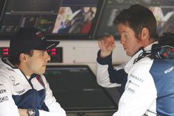 Felipe Massa, Williams, tmit Rob Smedley, Chef Fahrzeufperformance, Williams