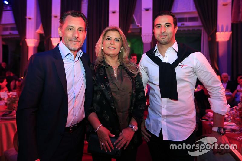 François Ribeiro, Eurosport, Motorsportdirektor; Mehdi Bennani, Sébastien Loeb Racing, Citroën C-Ely