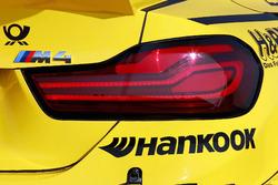 Detalle trasero del BMW M4 DTM