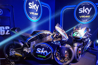 The Moto2 bikes of Francesco Bagnaia and Stefano Manzi