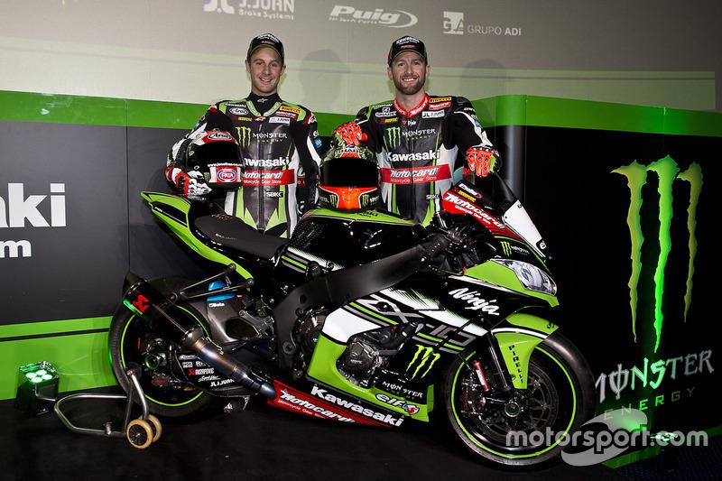 Tom Sykes, Jonathan Rea, Kawasaki Racing