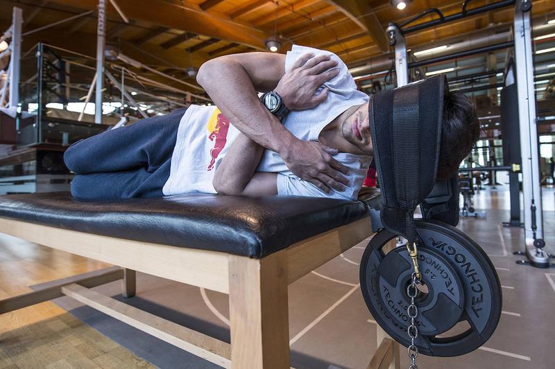 Carlos Sainz Jr., Scuderia Toro Rosso, in volle training