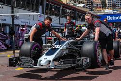 La Haas VF-17 de Kevin Magnussen