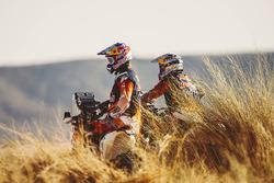 Тоби Прайс, Red Bull KTM Factory Racing, и Сэм Сандерленд, Red Bull KTM Factory Racing