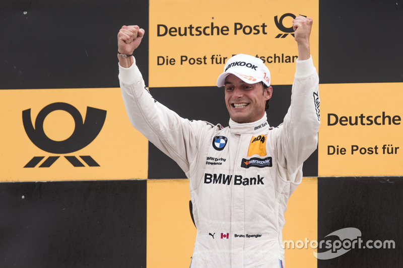 Podio: Ganador de la carrera Bruno Spengler, BMW Team RBM, BMW M4 DTM