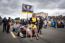 Chica de la parrilla para Pedro Piquet, Van Amersfoort Racing Dallara F317 - Mercedes-Benz