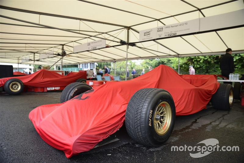 Ferrari cubierto