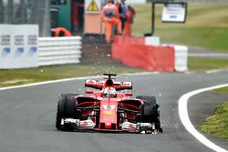 Прокол: Себастьян Феттель, Ferrari SF70H