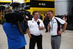 Zak Brown, McLaren-Chef, Craig Slater, Sky Sports F1