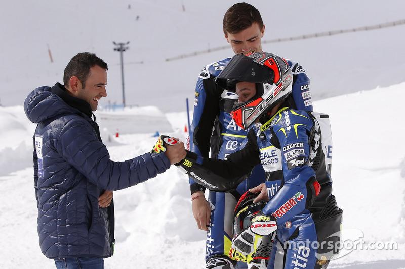 Emilio Zamora, Avintia Racing MotoGP con Loris Baz y Héctor Barberá