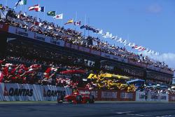 Eddie Irvine, Ferrari F399 se lleva el triunfo