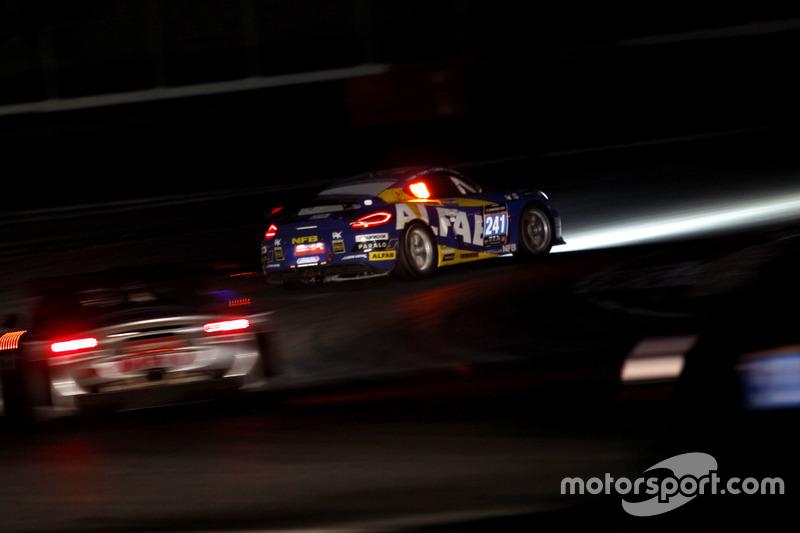 #241 ALFAB Racing Porsche Cayman GT4 Clubsport: Erik Behrens, Daniel Roos, Anders Levin, Fredrik Ros