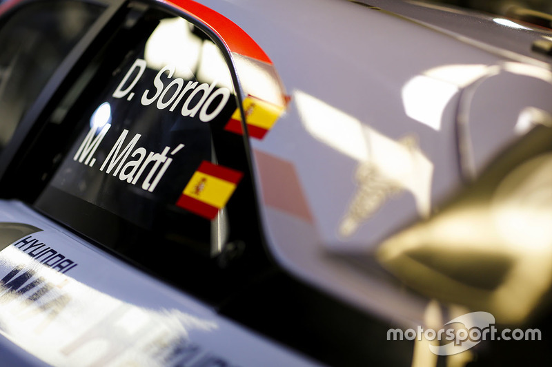 Dani Sordo, Marc Marti, Hyundai i20 Coupe WRC, Hyundai Motorsport
