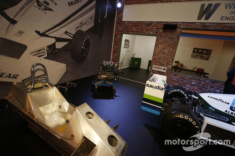 Coches históricos de Williams, incluyendo un FW06