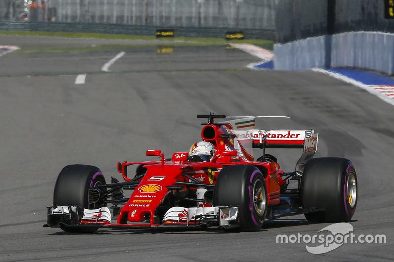 1. Себастьян Феттель, Ferrari — 86