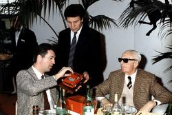 Enzo ve Piero Ferrari,1987