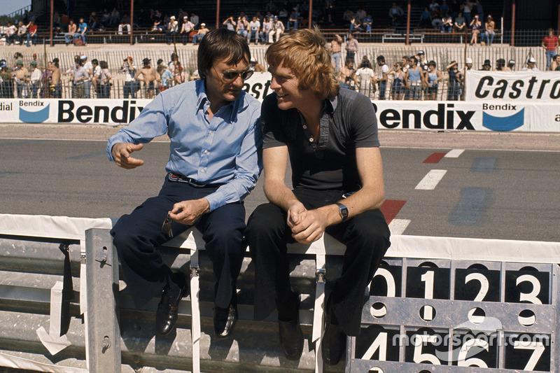 Власник Brabham Берні Екклстоун і менеджер команди March Engineering Макс Мослі