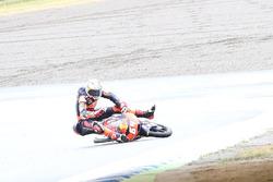La caduta di Bo Bendsneyder, Red Bull KTM Ajo