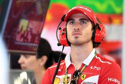 Пилот по развитию Ferrari Антонио Джовинацци
