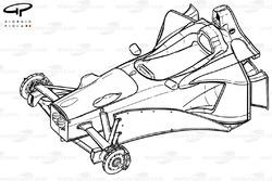 Châssis de la Stewart SF2