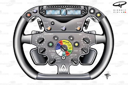 Renault R29 steering wheel