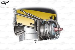 Renault R30 front brake