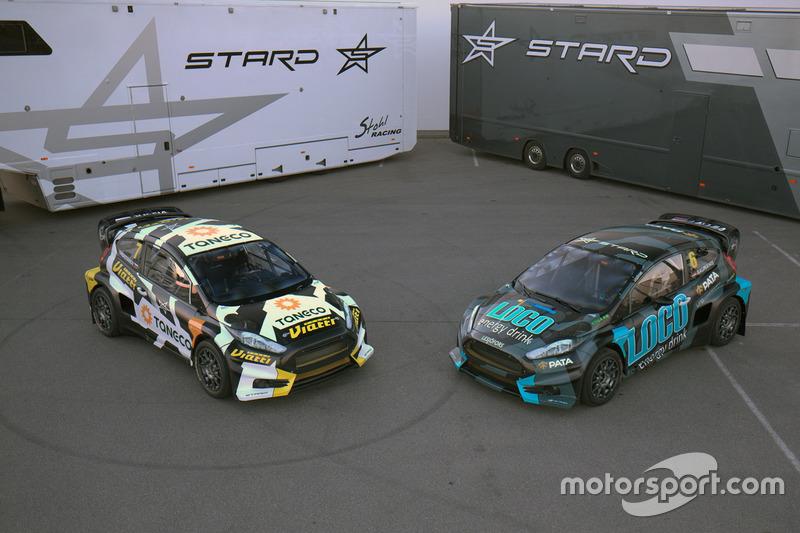STARD 车队新车发布