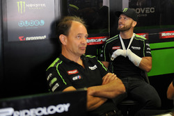Tom Sykes, Kawasaki Racing, après son accident