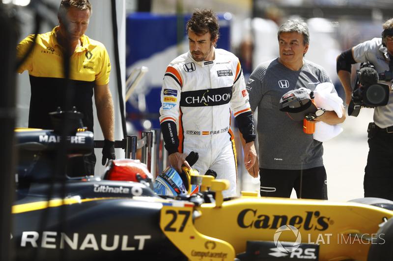 Фернандо Алонсо, McLaren, Ніко Хюлькенберг, Renault Sport F1 Team RS17