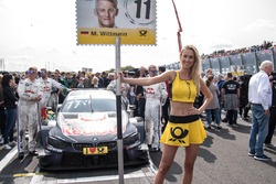 Gridgirl, Marco Wittmann, BMW Team RMG, BMW M4 DTM