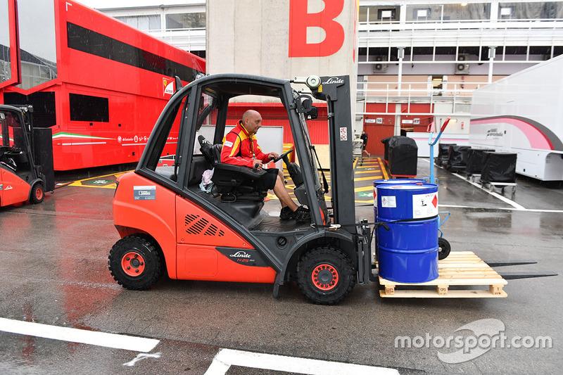 Ferrari freight
