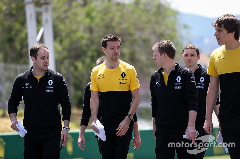 Ознакомление с трассой: Джолион Палмер, Renault Sport F1