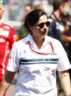 Monisha Kaltenborn, Director y CEO de Sauber