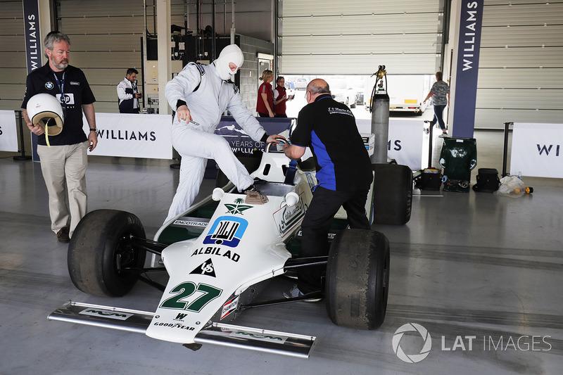 Williams FW07 Алана Джонса
