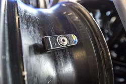 Une jauge de pression de pneu Michelin