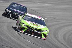 Gray Gaulding, BK Racing Toyota, Timmy Hill, Rick Ware Racing Chevrolet