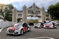 Autos vom Team Peugeot Hansen, Peugeot 208