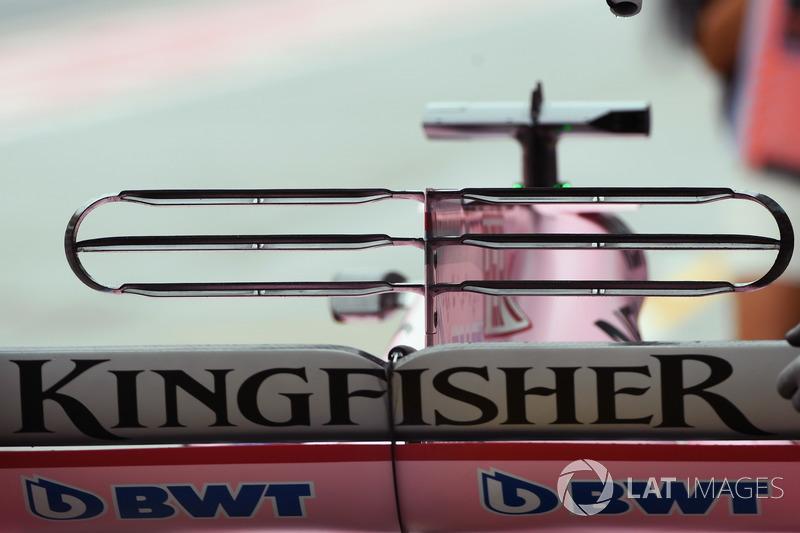 Sahara Force India VJM10 arka kanat detay