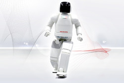 The Honda Asimo robot will be the Grand Marshall for the IndyCar race at Barber Motorsports Park