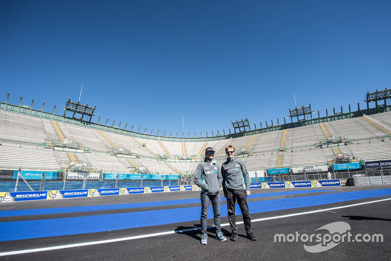 Nelson Piquet Jr., NEXTEV TCR Formula E Team und Oliver Turvey, NEXTEV TCR Formula E Team
