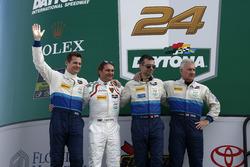 Рольф Инайхен, Лэнс Уилси, Франц Конрад, Фабио Бабини и Марк Бассенг, #28 Konrad Motorsport Lamborgh