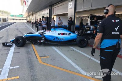 Test Pirelli a Silverstone