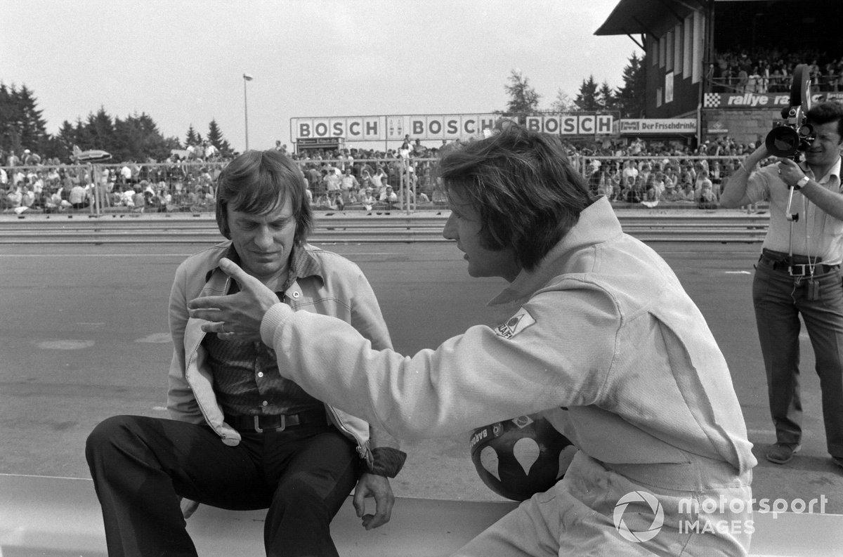 Bernie Ecclestone y Wilson Fittipaldi