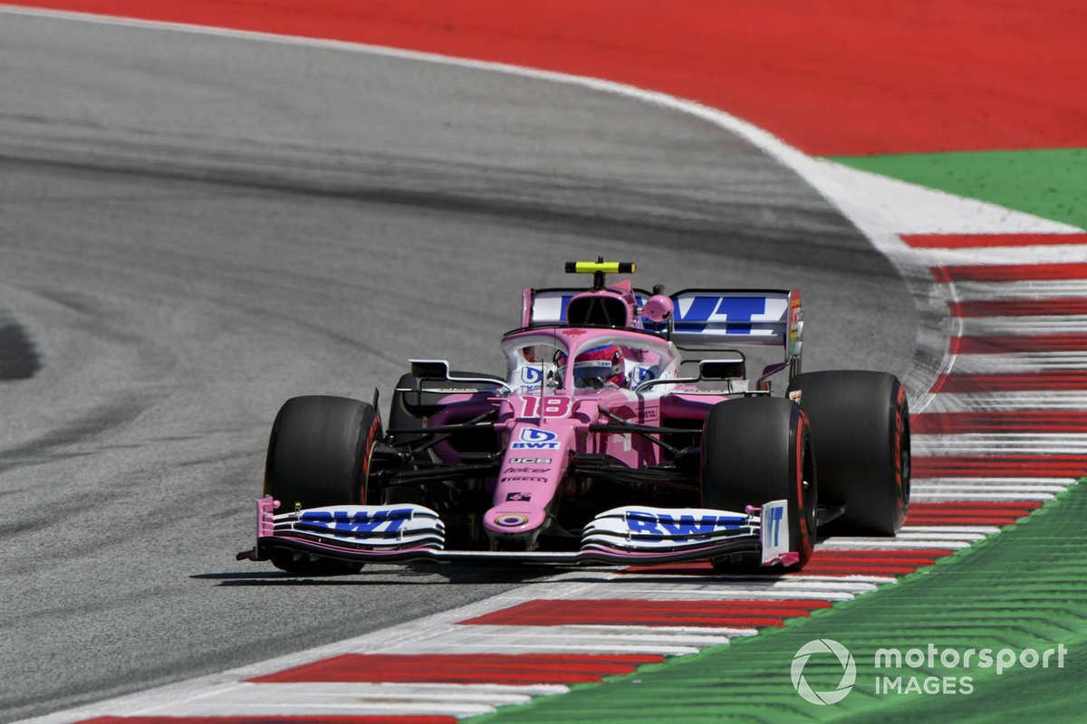 P4 Lance Stroll, Racing Point RP20