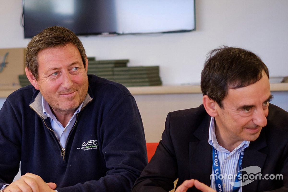 Gerard Neveu, CEO WEC, Pierre Fillon, ACO presidente