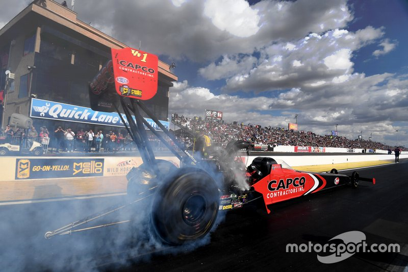 Steve Torrence, Don Schumacher Racing, 2020 NHRA Arizona Nationals at Wild Horse Pass Motorsports Park.