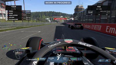Le jeu vidéo F1 2021