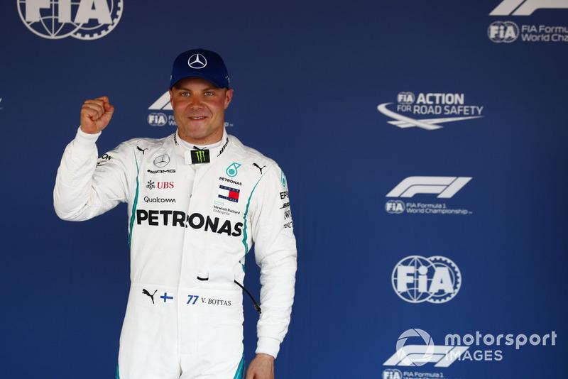 Поулсіттер Валттері Боттас, Mercedes AMG F1